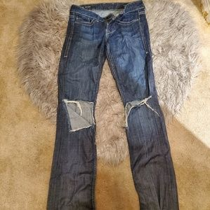 William Rast Distressed Jeans